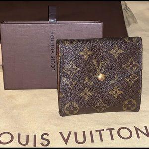 💯Auth LOUIS VUITTON Vintage Monogram Elise wallet